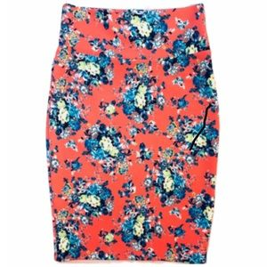 Floral Cassie Pencil Skirt by LulaRoe